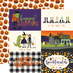 "Hocus Pocus Double-Sided Cardstock 12""X12"" - 4""X6"" Journaling Cards"