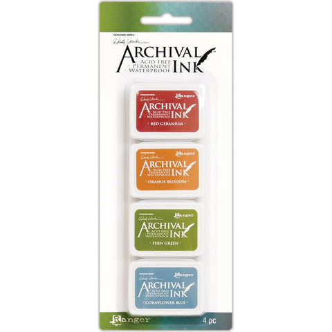 Wendy Vecchi - Mini Archival Ink Pads - Set #4