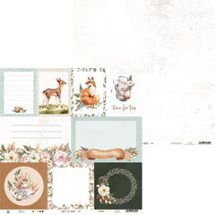 "Forest Tea Party - P13 -  Double-Sided Cardstock 12""X12"" - #05"