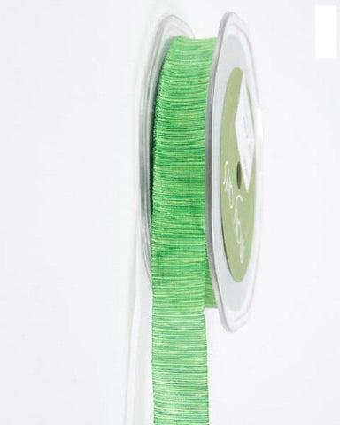 "TEXTURED/TWO TONE RIBBON - 5/8"" - Parrot Green/Yellow (1 yd)"