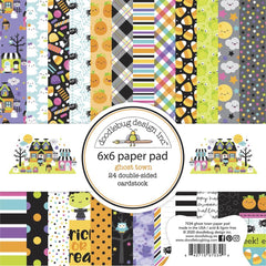 "Ghost Town - Doodlebug - Double-Sided Paper Pad 6""X6"" 24/Pkg"