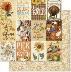 "Splendor - Authentique - Double-Sided Cardstock 12""X12"" - #6 Images & Sentiments 3""X4"" Cut-Aparts"