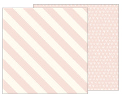 "Jen Hadfield Heart Of Home Double-Sided Cardstock 12""X12"" - Blushing"