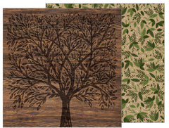 "Jen Hadfield Heart Of Home Double-Sided Cardstock 12""X12"" - Forest Botanical"