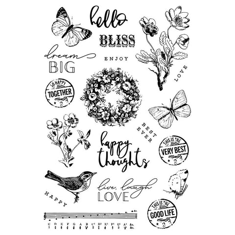 Simple Vintage Garden District - Simple Stories - Photopolymer Clear Stamps