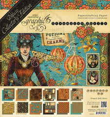 "Life's A Journey - Graphic 45 - Double-Sided Paper Pad 8""X8"" 24/Pkg"