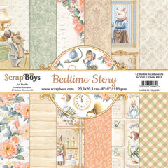 "Golden Coast - Prima Marketing - Double-Sided Paper Pad 8""X8"" 30/Pkg"