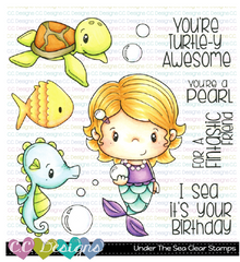 UNDER THE SEA CLEAR STAMPS - C.C. DESIGNS