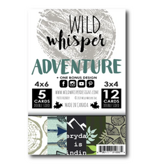 ADVENTURE - WILD WHISPER - CARD PACK