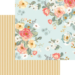 "Gingham Gardens - My Mind's Eye - Double-Sided Cardstock 12""X12"" - Amanda"