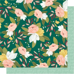 "Willow - One Canoe Two - Double-Sided Cardstock 12""X12"" - Ambrose Blooms"