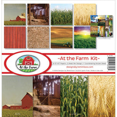 "At The Farm - Reminisce - Collection Kit 12""X12"""