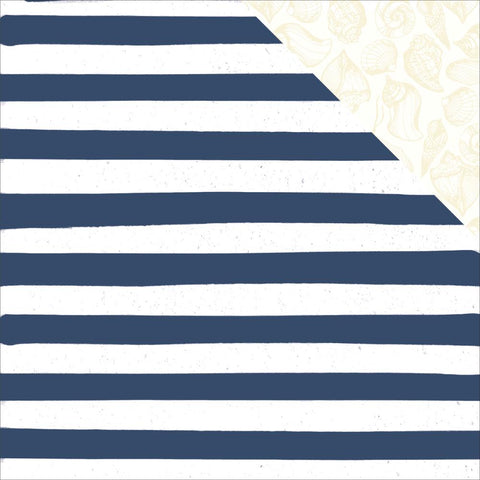 "Summer Splash Double-Sided Cardstock 12""X12"" - Beach Towel"