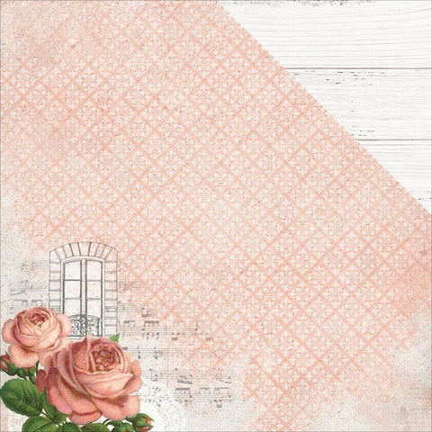 "Ooh La La Double-Sided Cardstock 12""X12"" - Belle"