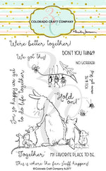 Clear Stamp - Colorado Craft Company - Better Together