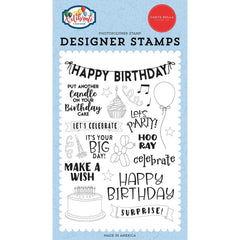 Let's Celebrate - Carta Bella - Stamps - Birthday Surprise