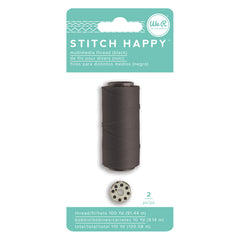 We R Stitch Happy Thread - Black