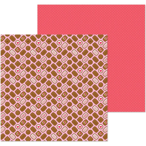 "French Kiss - Double-Sided Cardstock 12""X12"" - Bonbons"