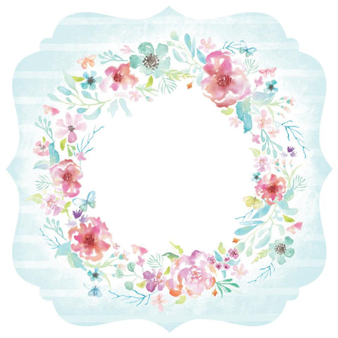 "Wildflower Die-Cut Cardstock 12""X12"" - Bracket"