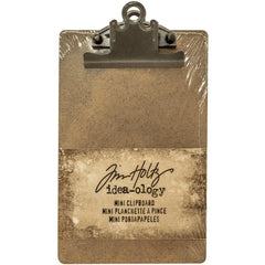 "Idea-Ology Mini Clipboard - Brown 4.5""X7.75"""