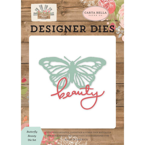 Farmhouse Market - Carta Bella - Dies - Butterfly Beauty
