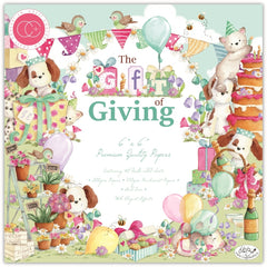 "The Gift Of Giving - Craft Consortium - Double-Sided Paper Pad 6""X6"" 40/Pkg"