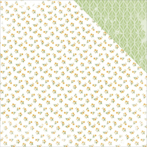 "Golden Grove Double-Sided Cardstock 12""X12"" - Canola"
