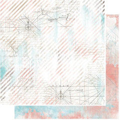 "Anthology Double-Sided Cardstock 12""X12"" - Cartography"