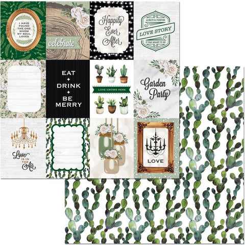 "Garden Party Double-Sided Cardstock 12""X12"" - Celebrate"