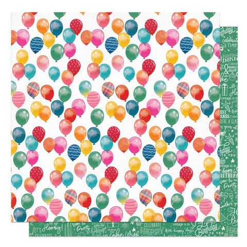 "Confetti - Photo Play - Double-Sided Cardstock 12""X12"" - Celebrate"