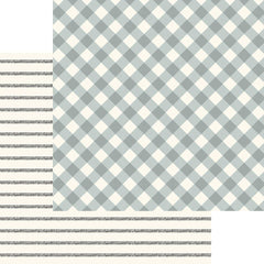 "Gingham Gardens - My Mind's Eye - Double-Sided Cardstock 12""X12"" - Charlotte"