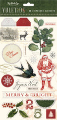 Yuletide - My Mind's Eye - Chipboard Embellishments