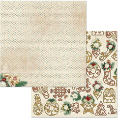 "Yuletide Carol Double-Sided Cardstock 12""X12"" - Christmas"