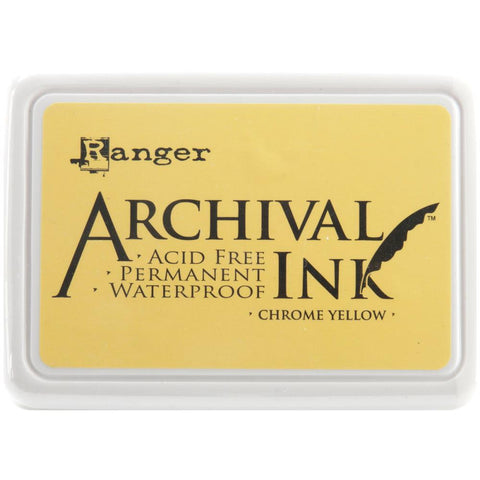 Ranger Archival Ink Pad #0 - Chrome Yellow