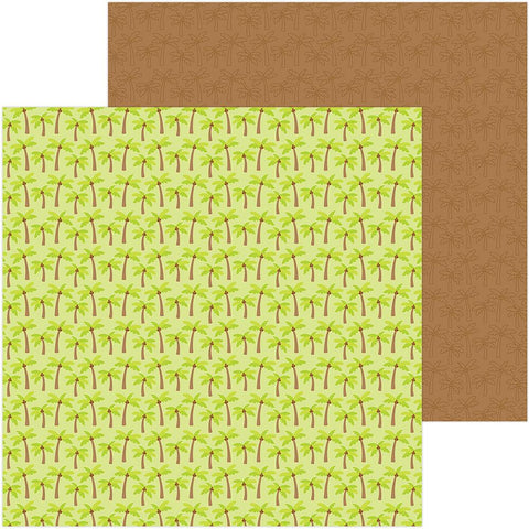 "Sweet Summer Double-Sided Cardstock 12""X12"" -  Coconut Grove"