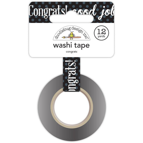 Hats Off Washi Tape - Congrats