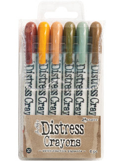 DISTRESS CRAYONS - SET 10