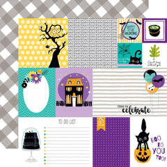 "Sweet & Spooky Double-Sided Cardstock 12""X12"" - Daily Details"