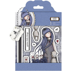 Gorjuss Santoro Rubber Stamp - Dear Alice