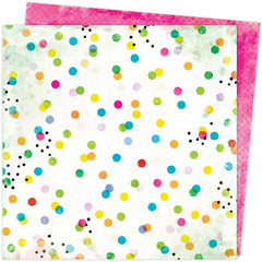 "Color Study - Vicki Boutin - Double-Sided Cardstock 12""X12"" - Dots & Marks"