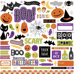 "Trick Or Treat Stickers 12""X12"" - Element"