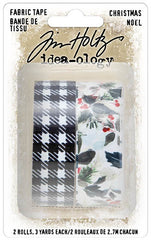 Tim Holtz - Paperie Fabric Tape (Christmas 2020)