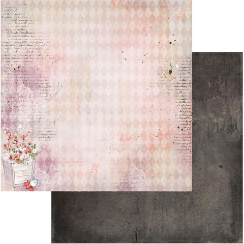 "Ethereal - 49 & Market - Double-Sided Cardstock 12""X12"" - Flora"