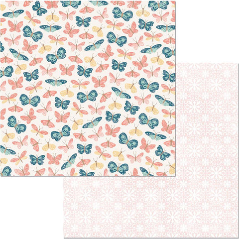 "Early Bird Double-Sided Cardstock 12""X12"" - Flutter"