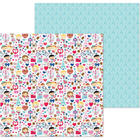 "French Kiss - Double-Sided Cardstock 12""X12"" - French Kiss"