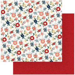 "Heart & Home - Photo Play - Double-Sided Cardstock 12""X12"" - Fresh Cut Flowers"