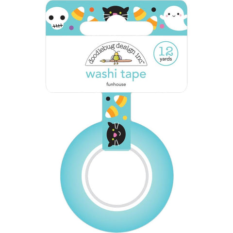 Candy Carnival - Doodlebug - Washi Tape 15mmX12yd - Funhouse