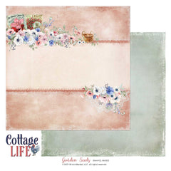 "Cottage Life - 49 & Market - 12""X12"" Patterned Paper - Garden Seeds"