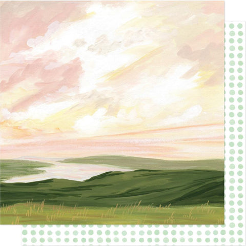 "Willow - One Canoe Two - Double-Sided Cardstock 12""X12"" - Getaway"
