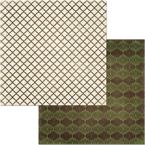 "Penelope Double-Sided Cardstock 12""X12"" - Grace"